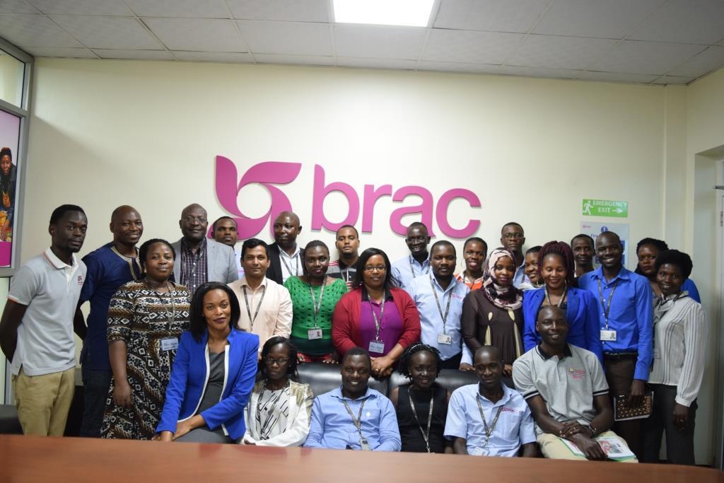 Team Brac Uganda